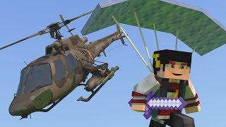 Minecraft: SKY WARS PARAQUEDAS - SALTANDO DO HELICOPTERO! ‹ AM3NIC ›