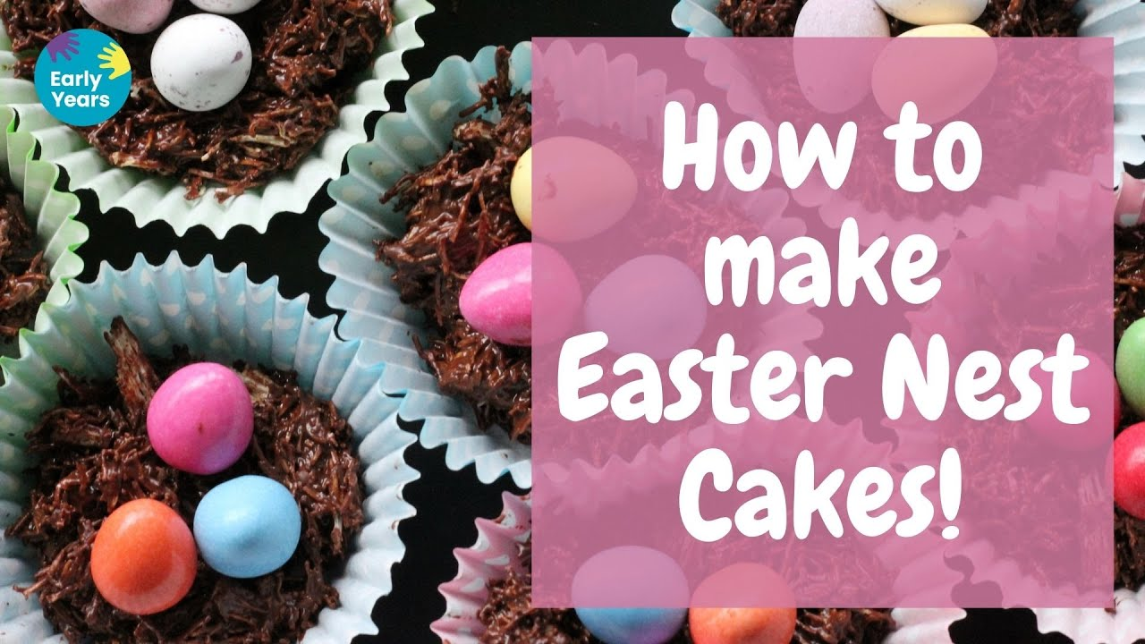 How to make Easter Nest Cakes