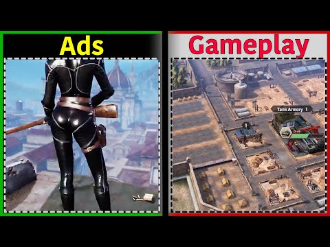 Kiss of War | Is it like the Ads? | Gameplay