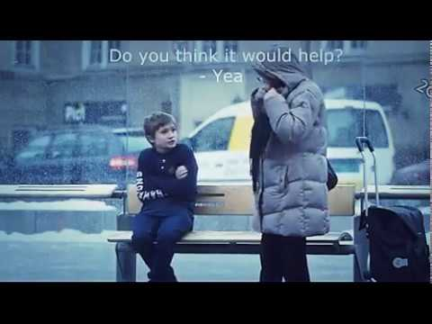 Norwegian people react to a little boy who is cold
