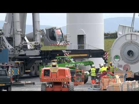 Wind Energy Excellence at Carrickatane Wind Farm - ESB International
