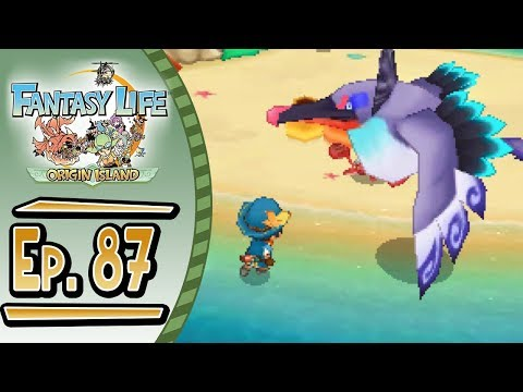 Fantasy Life - Origin Island :: # 87 :: The Typhoon Bird - Hunter Special Request!