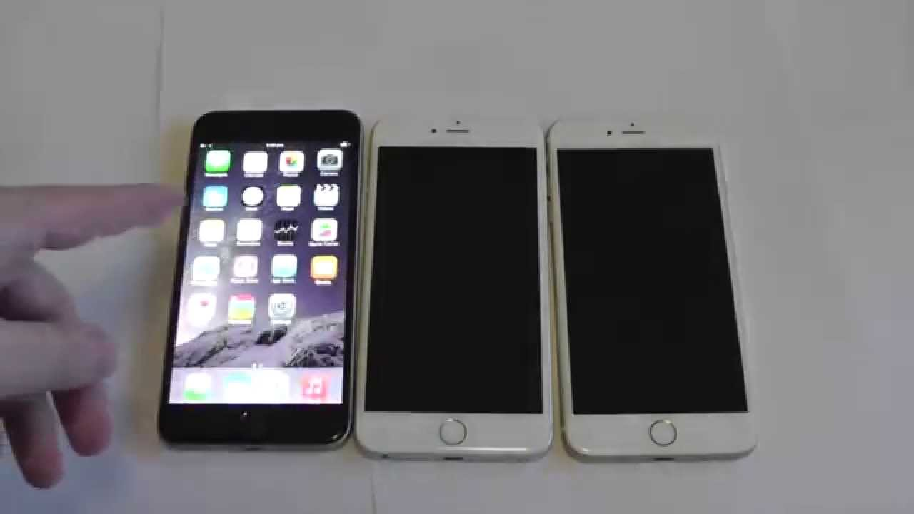iphone 6 plus space grey vs white silver vs gold youtube. Black Bedroom Furniture Sets. Home Design Ideas