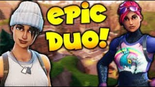 Elite duo gets a crazy dub ft my new duo partner| Fortnite battle royale