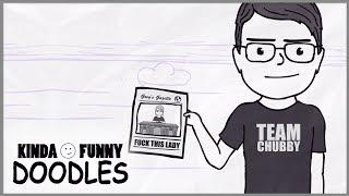 Greg's Gazette - Kinda Funny Doodles