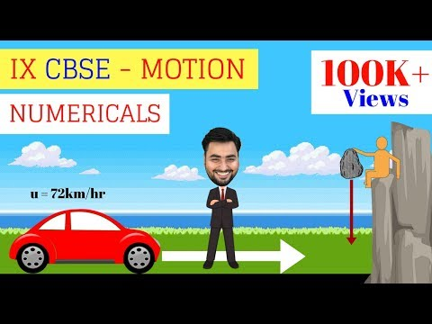 Download Youtube: CLASS 9 PHYSICS - MOTION NUMERICALS