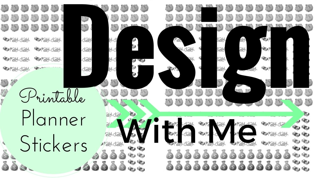 picture about Free Printable Functional Planner Stickers identify Layout With Me: Sensible Payday/Fiscal Planner Stickers (AND Absolutely free PRINTABLES)