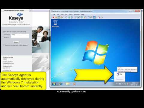 How to deploy Windows 7 with Kaseya