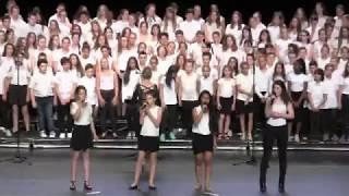 Tu trouveras (P. Obispo et Natasha St Pier) - Chorale du collège Mont Roland 2017