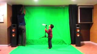 Diy Green Screen Studio Cheap Under 60 Dollars :)