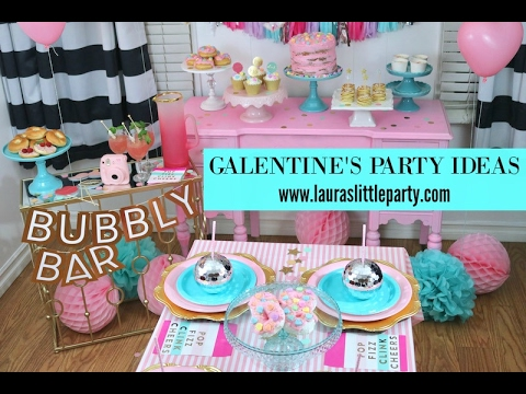 galentine s day party ideas youtube. Black Bedroom Furniture Sets. Home Design Ideas
