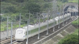 CRH3A+CRH3A, China High Speed train 中國高速列車 (D1801成都往广州, Chengdu to Guangzhou Train)