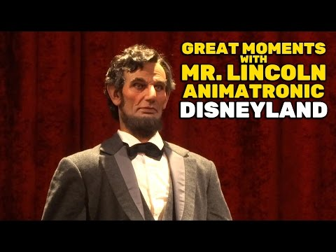 Great Moments with Mr. Lincoln animatronic segment at Disneyland