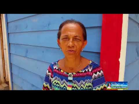 Invi y Fundacion Ramona Polanco continúan cambio de piso de tierra por piso de cemento