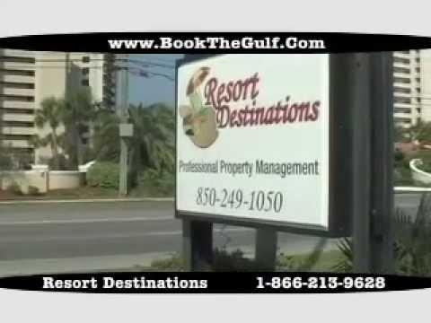 Panama City Beach Vacation Rentals --  Resort Destinations