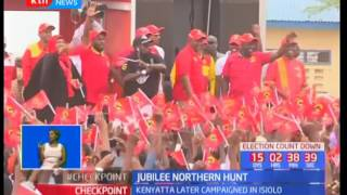 Jubilee Campaigns : Uhuruto calls on Raila Odinga to quit race if he doubts the IEBC