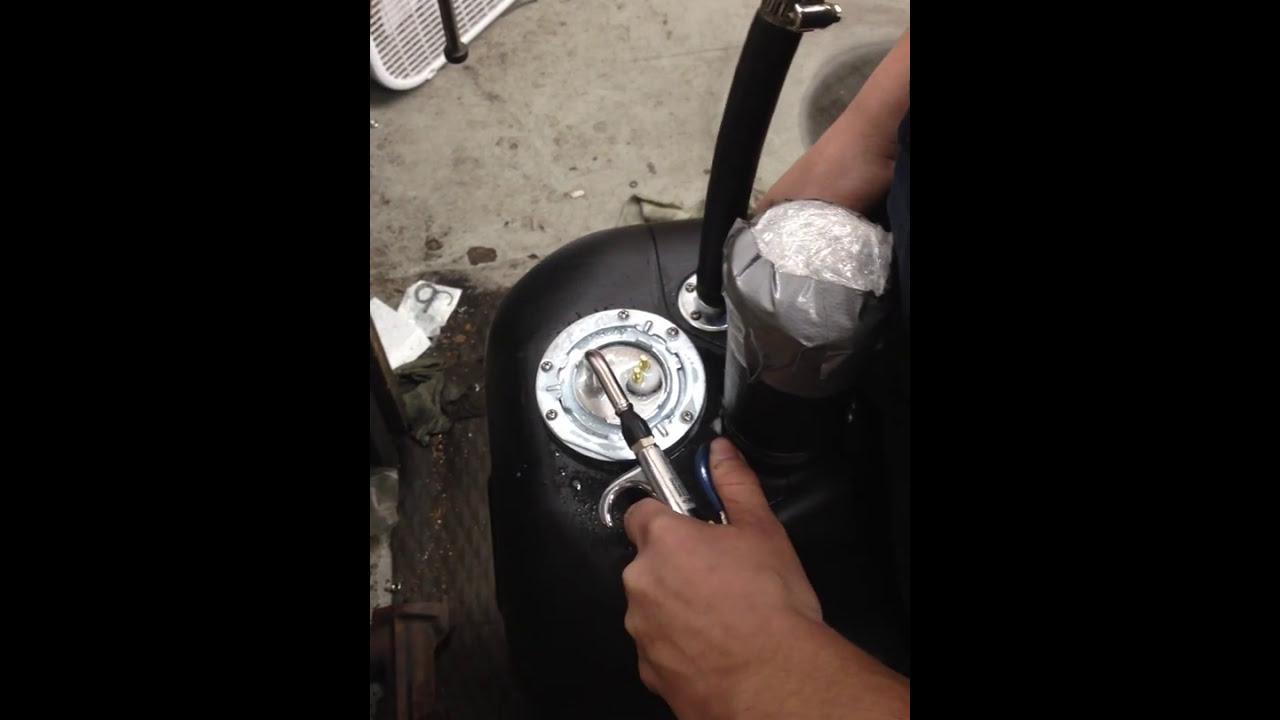 toms bronco parts fuel tank sending unit install [ 1280 x 720 Pixel ]