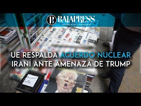 Los Veintiocho respaldan acuerdo nuclear con Irán frente a posición de Trump