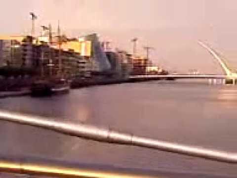 Hols09: Sean O'casey's Bridge, Dublin, Ireland