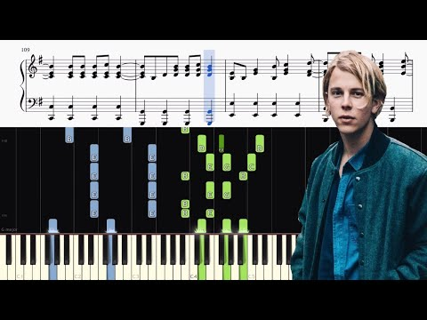 Tom Odell - Another Love - Advanced Piano Tutorial + SHEETS