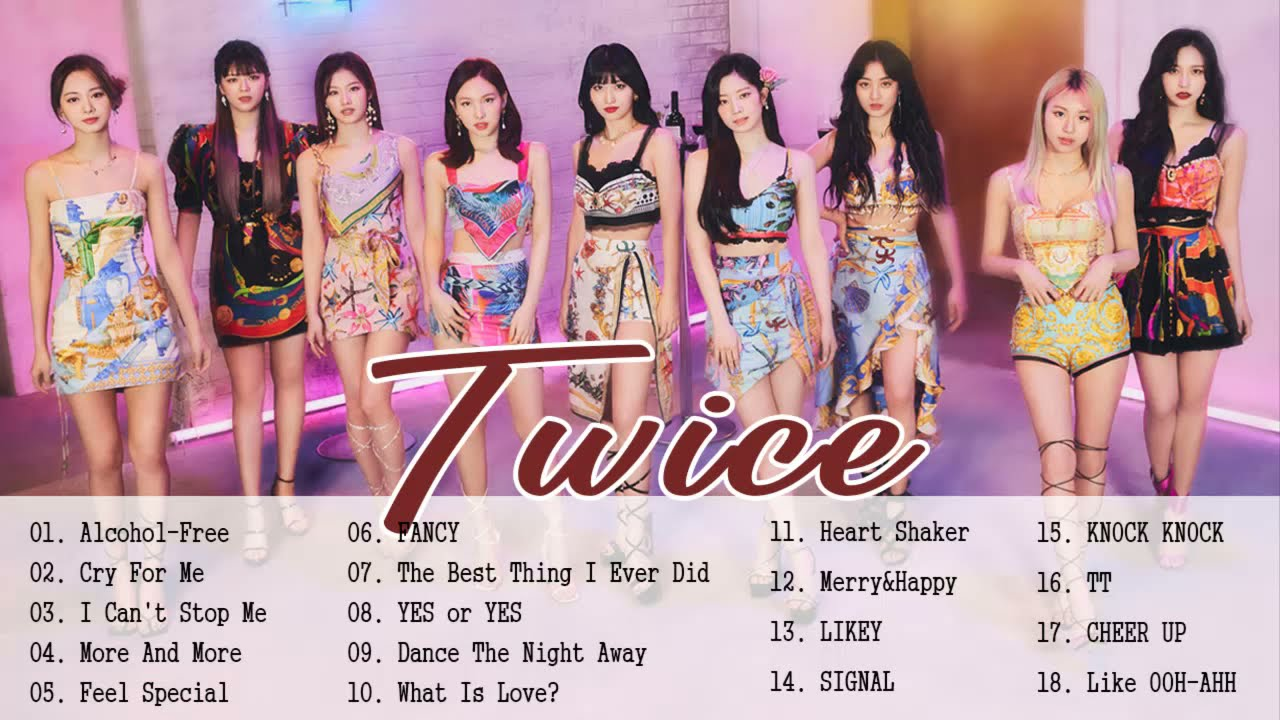 [Playlist] T W I C E  Best songs 2021 Updated - 최고의 노래 모음 - Kpop Super Hits