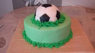 Soccer Ball Cake - Football Cake