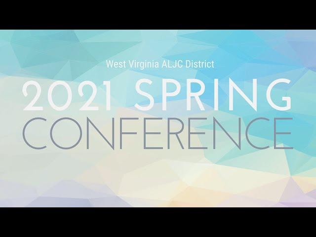 2021 Spring Conference - Rev. Billly McCool