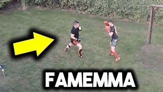BOXDEL POKAZ UMIEJĘTNOŚCI NA SPARINGU FAME MMA!!! (SHOTY)