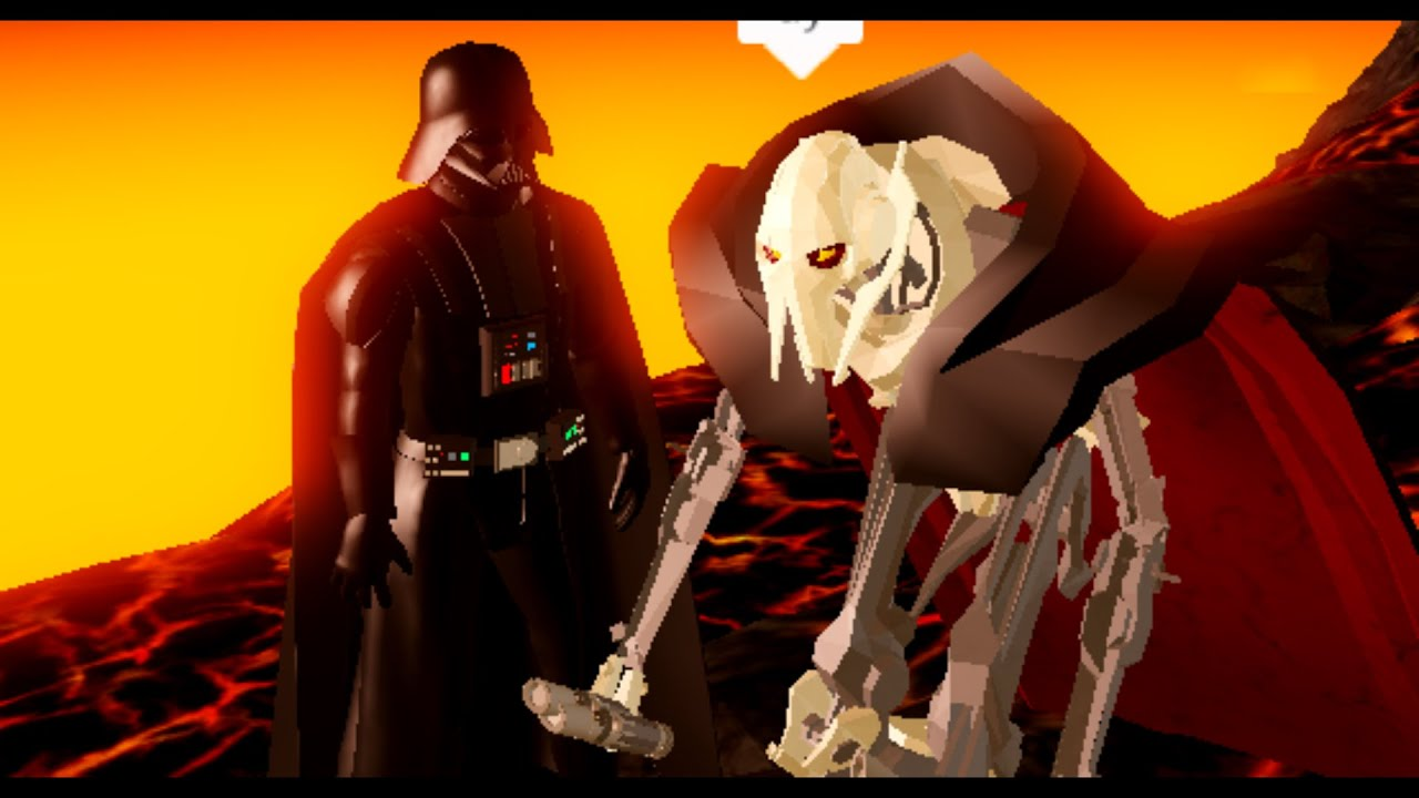 Roblox Darth Vader Vs General Grievous Custom Roblox Ilum 2