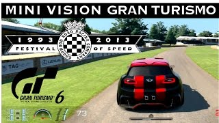 Gran Turismo 6 - MINI Vision GT @ Goodwood Festival of Speed | Update 1.16 PS3 Gameplay