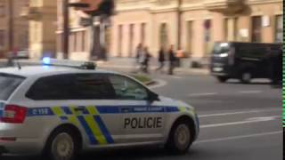 Policie a její opatření na derby SFC Opava - Baník Ostrava
