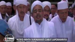 Rizieq Akan Laporkan Balik Sukamawati - INews Petang 12/01