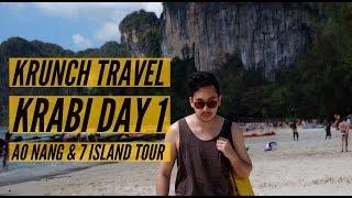 Krabi Day 1: Ao Nang & 7 island Tour - Agla & Radit | KRUNCH TRAVEL
