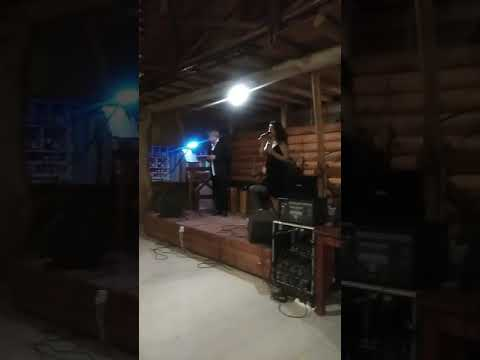Acompañando a Mariana Novoa y Ángel Dubarry en peña el Lobo en Concordia Entre Ríos