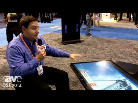 DSE 2014: 3M Demos the 47in Multi-Touch Display as a Table Top