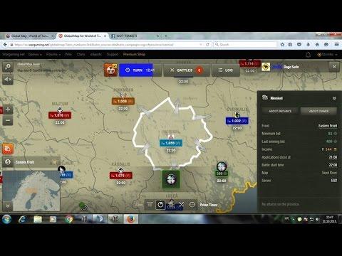 Global Map Tutorial za World of Tanks (on Croatian) - YouTube