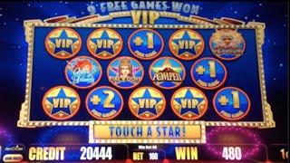 POMPEII - ALL STARS II VIP | Aristocrat - Slot Machine Bonus
