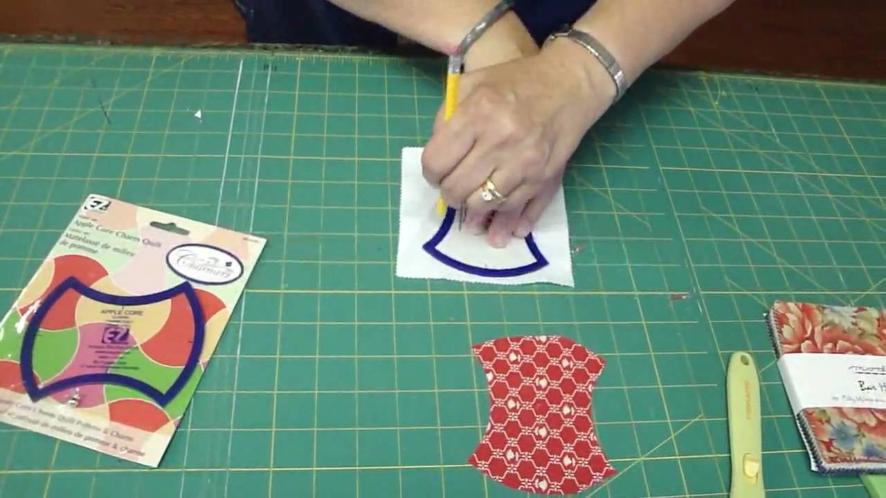 The Apple Core Template For Easy Quilting Youtube