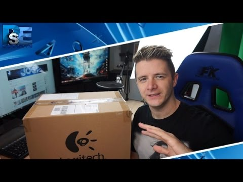 unboxing g29 lenkrad ps4 logitech playstation experience. Black Bedroom Furniture Sets. Home Design Ideas