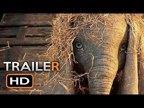 Dumbo Official Trailer #1 (2019) Tim Burton Disney Movie HD