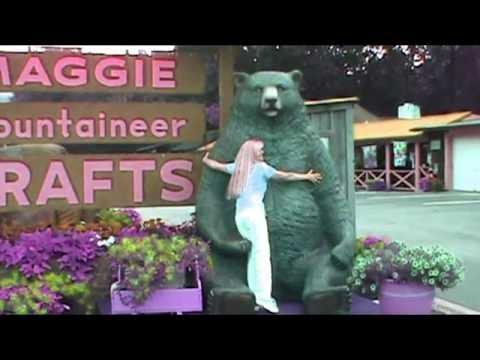 Smokey Mountain Trip! Cherokee North Carolina! Plus Bear Hugs!