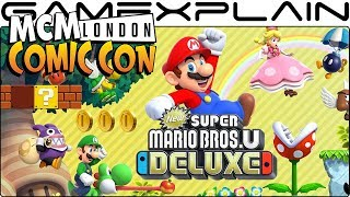 New Super Mario Bros. U Deluxe to Be Playable for First Time at MCM London Comic Con!