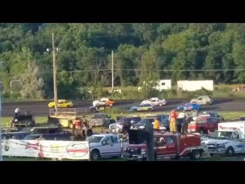 Dustin Virkus @ Fiesta City Speedway- Heat 7.28.17, Part 2