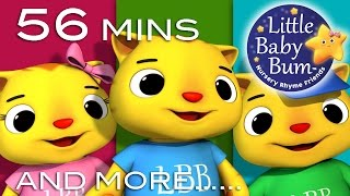 Three Little Kittens | Plus Lots More Nursery Rhymes | from LittleBabyBum!