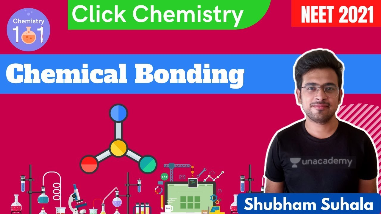 Chemical Bonding | Part 6 | Click Chemistry | NEET 2021 | Shubham Suhala