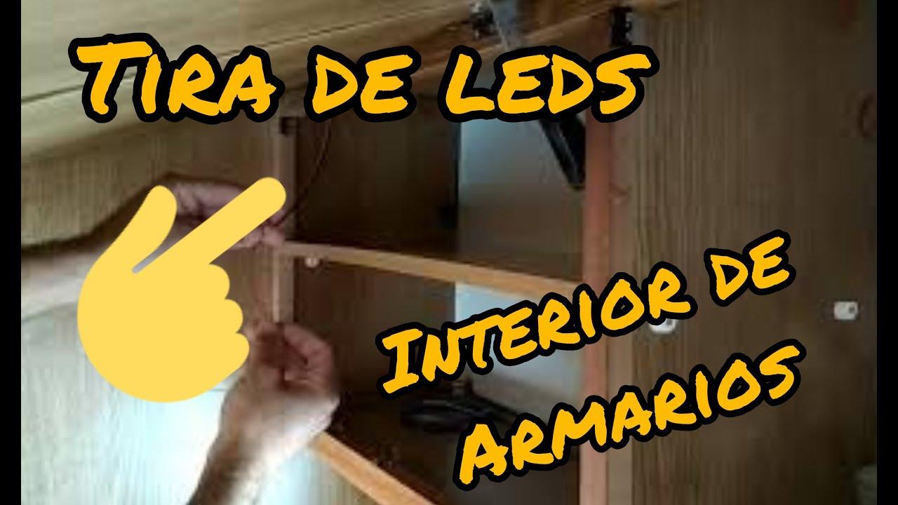 Iluminaci n para interiores de armarios de autocaravanas y - Iluminacion interior armarios ...