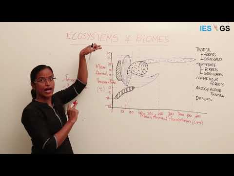 Environment and Ecology 1: Characteristics of Different Ecosystems and Biomes