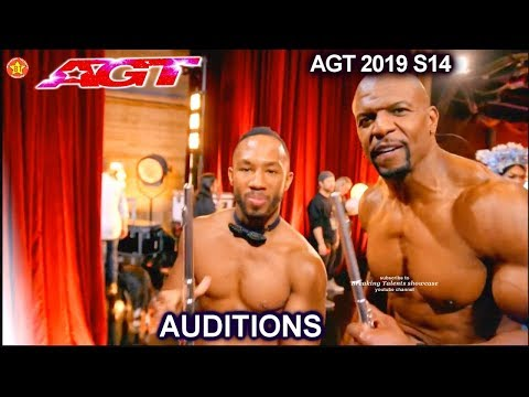 Brandon Coprich Flautist A TWIST Terry Crews Shirtless & Flute | America's Got Talent 2019 Audition from YouTube · Duration:  4 minutes 25 seconds