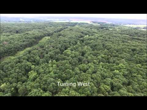 Richard D. & Alice M. Allinson Aerial Tour  Adair County, MO