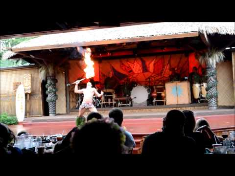 Spirit of Aloha Dinner Show at Disney's Polynesian Village Resort at Walt Disney World